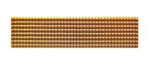 Лычка солдатская узкая золото , фото 2