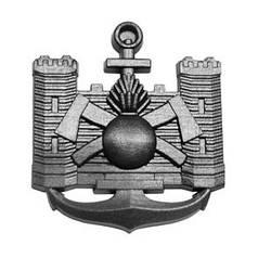 Эмблема строительных войск, хаки