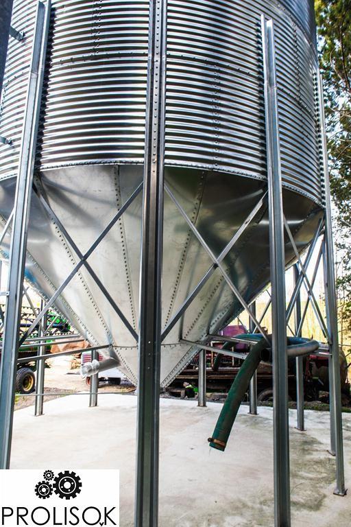 Бункер для зерна 213 т
