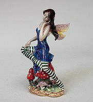 Статуэтка Девушка Эльф 22 см фарфор Pavone