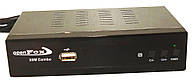 Спутниковый ресивер OpenFox X6 Metal Combo