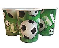 Стаканы Футбол. Одноразовая праздничная посуда футбол.