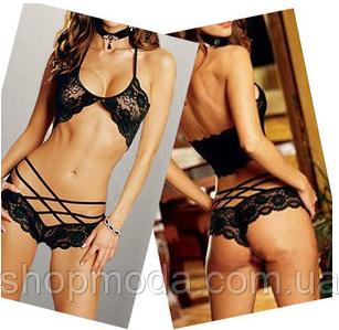 Сексуальное и эротическое белье.Бюстик и трусики.Размер S, фото 2