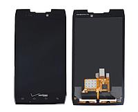 Оригинальный дисплей (модуль) + тачскрин (сенсор) для Motorola Razr XT910 | Droid Razr XT912 (черный цвет)