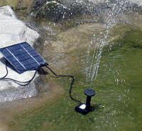 Фонтан на солнечной батарее + 5 Насадок