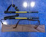 Палки для скандинавской ходьбы и треккинга в наборе (палки + чехол + запасные насадки).