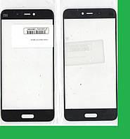 Xiaomi Mi5 СТЕКЛО передней панели-рамки (для переклейки) черное