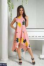 Яркое женское платье с бананами, фото 2