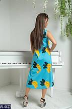 Яркое женское платье с бананами, фото 3