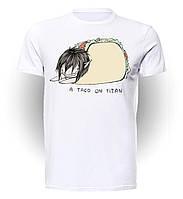 Футболка мужская размер L GeekLand Атака титанов Attack on Titan A Taco AT.01.001