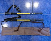 Палки для скандинавской ходьбы в наборе (палки + чехол + запасные насадки)