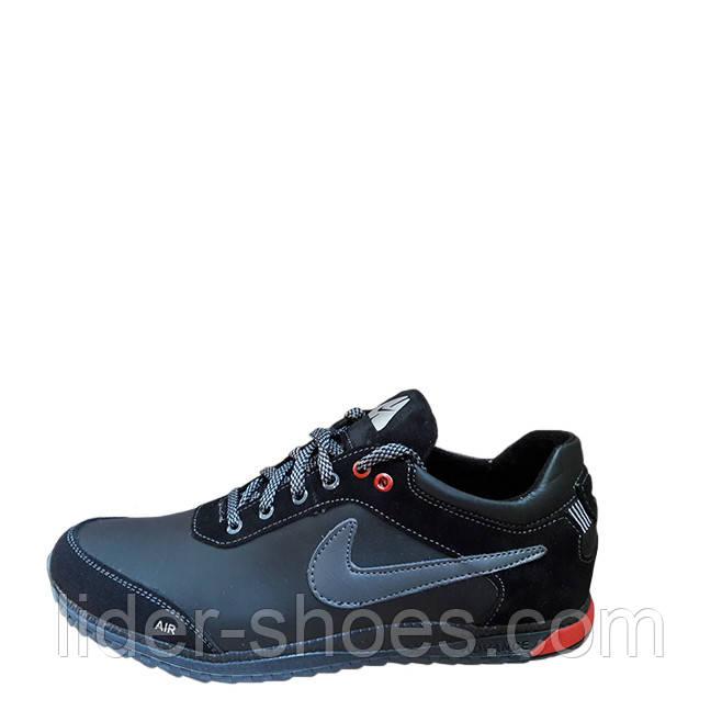 Кроссовки подростковые в стиле Nike черные
