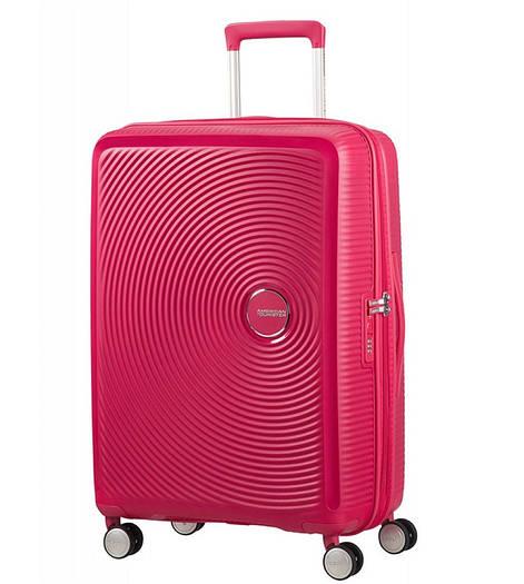 Средний пластиковый чемодан American Tourister Soundbox