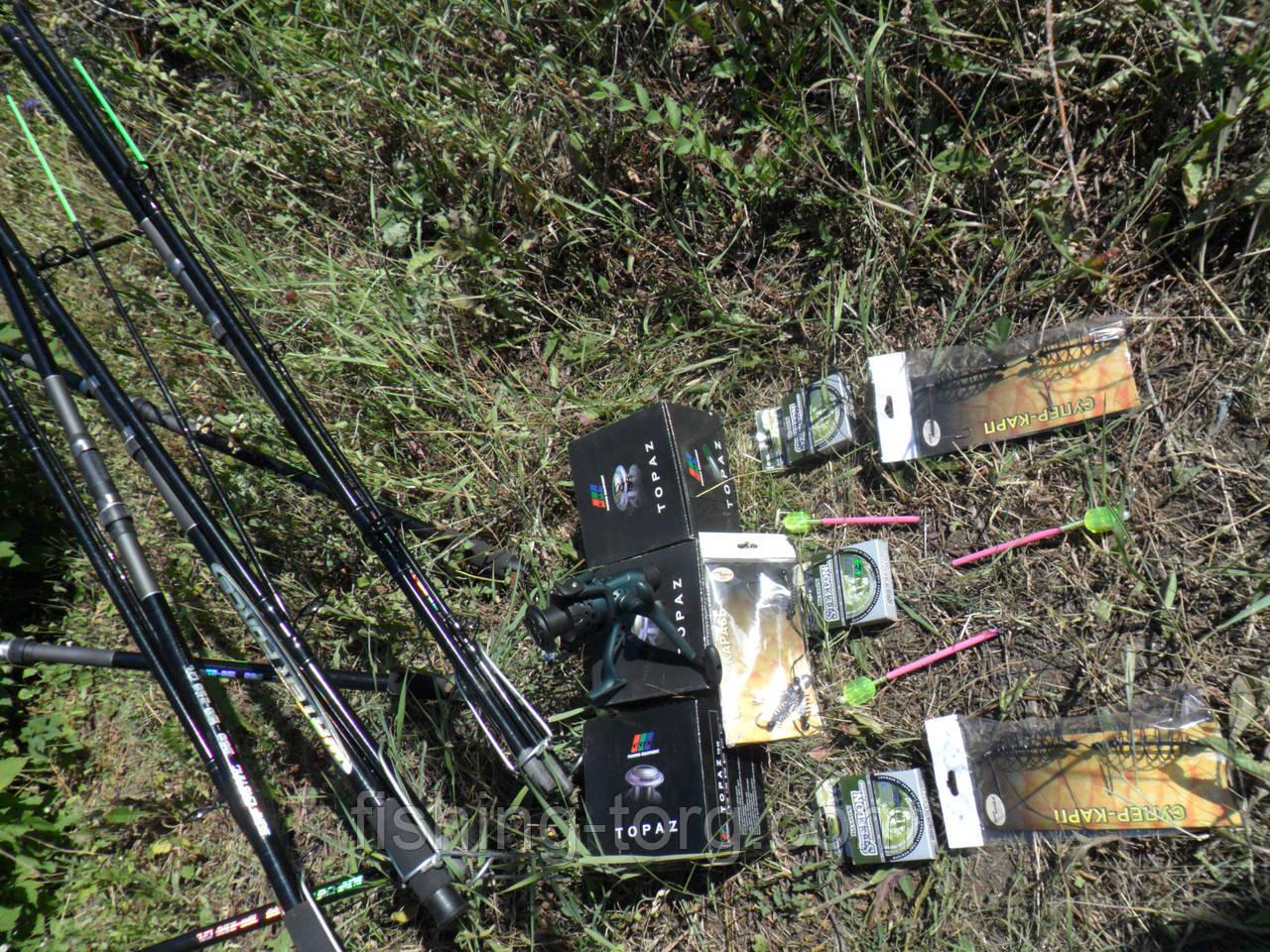 набор для ловли крупной рыбы 18 предметов лот 2