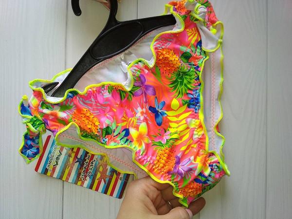 Красочные купальные плавки для девочки 2-5 лет, фото 1
