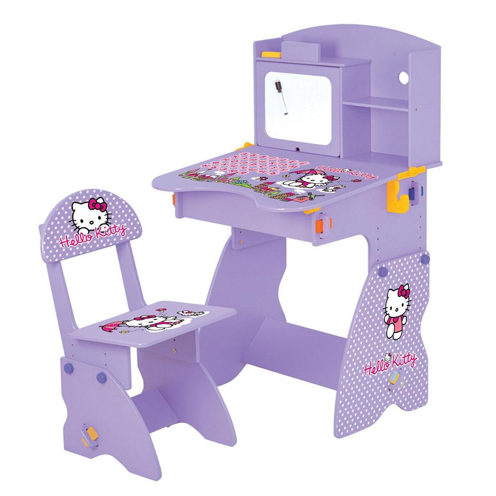 Парта растишка Bambi M 0324-9 Hello Kitty со стульчиком ***