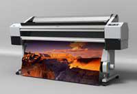 Печать интерьерная (до 1440 dpi) ДВУСТОРОННЯЯ на баннере Block-Out (черная прослойка)