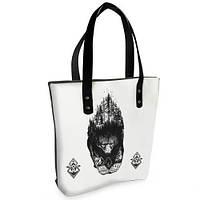 Женская сумка Bigbag с принтом Дикий медведь