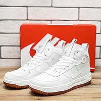 Кроссовки мужские Nike LF1 10551 найк найки белые обувь Реплика