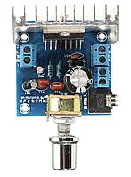 Аудио усилитель TDA7297 2х15Вт 12В с регулятором