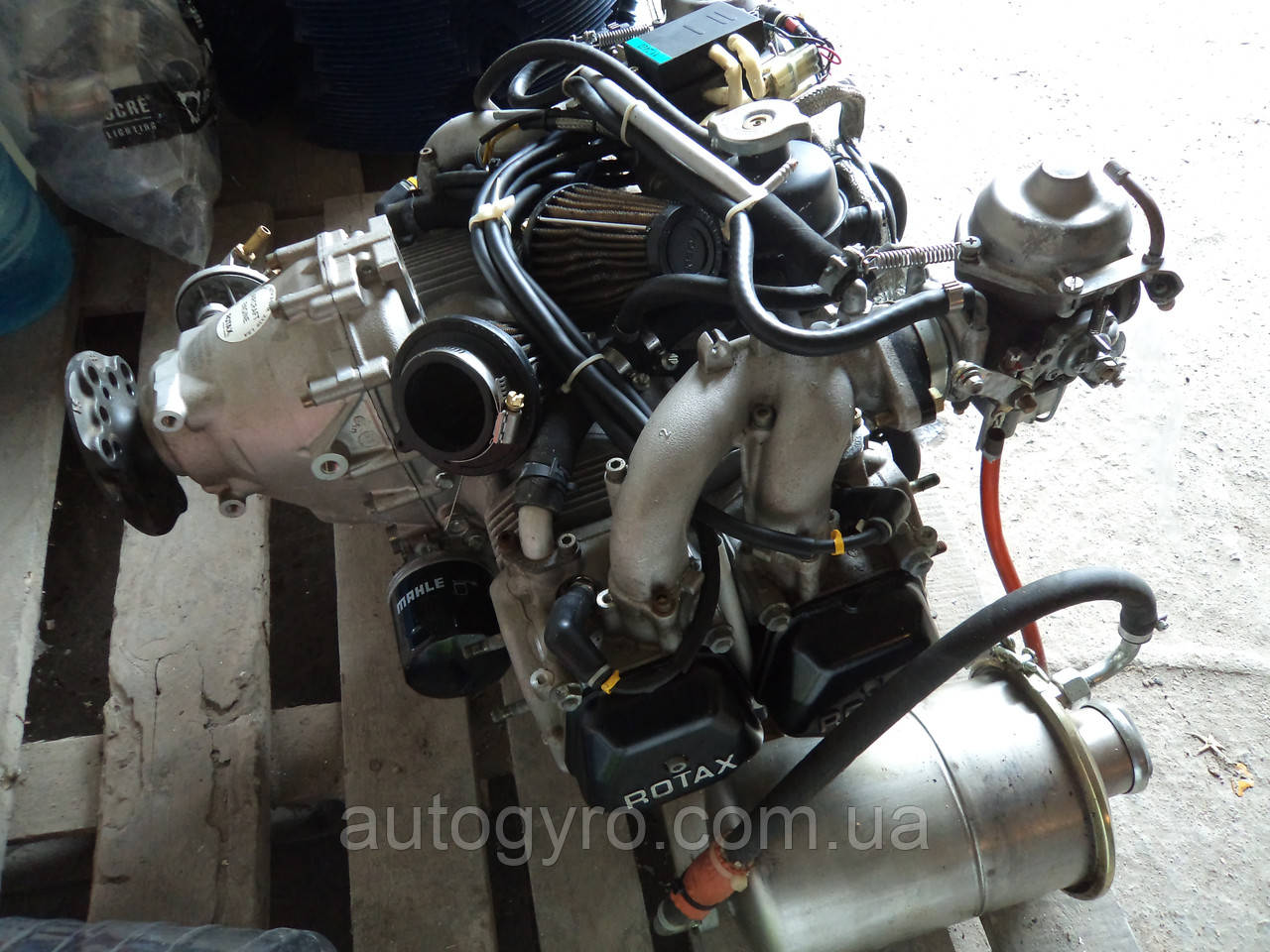 Двигатель ROTAX 912 UL б/у