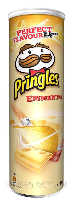Чіпси Pringles Emmental, 175 гр