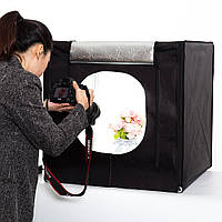 Лайткуб (фотобокс) 60x60x60см предметная съемка, Лайт Куб,  предметная съемка, Фото фон, Фото Куб