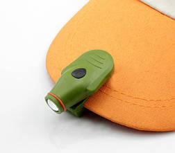 Фонарь на козырек с прищепкой цвет армейский зеленый, фото 2