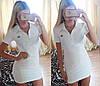 Женское стильное платье-майка со значком Hermès