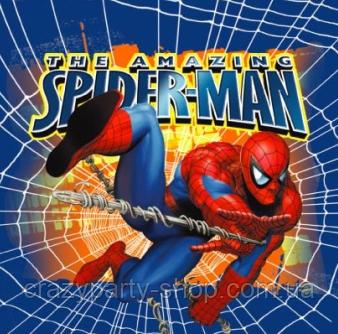 Салфетки Спайдермен Человек паук 10 штук