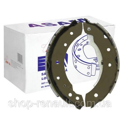 Тормозные колодки задние (без ABS) ASAM 30196 ОЕ 7701207178
