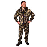Камуфляжний костюм з капюшоном UkrCamo КПТ 52р. Піксель темний