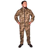 Камуфляжний костюм з капюшоном UkrCamo КПС 48р. Піксель світлий