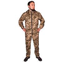Камуфляжний костюм з капюшоном UkrCamo КПС 52р. Піксель світлий