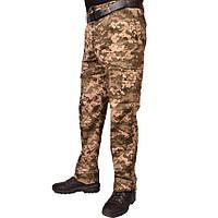 Штаны камуфляжные под ремень UkrCamo ШПС 50р. Пиксель светлый, фото 1