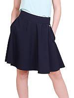 Школьная юбка для девочки Пивония