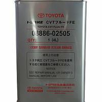 Трансмиссионное масло для вариатора Toyota CVT Fluid FE 08886-02505
