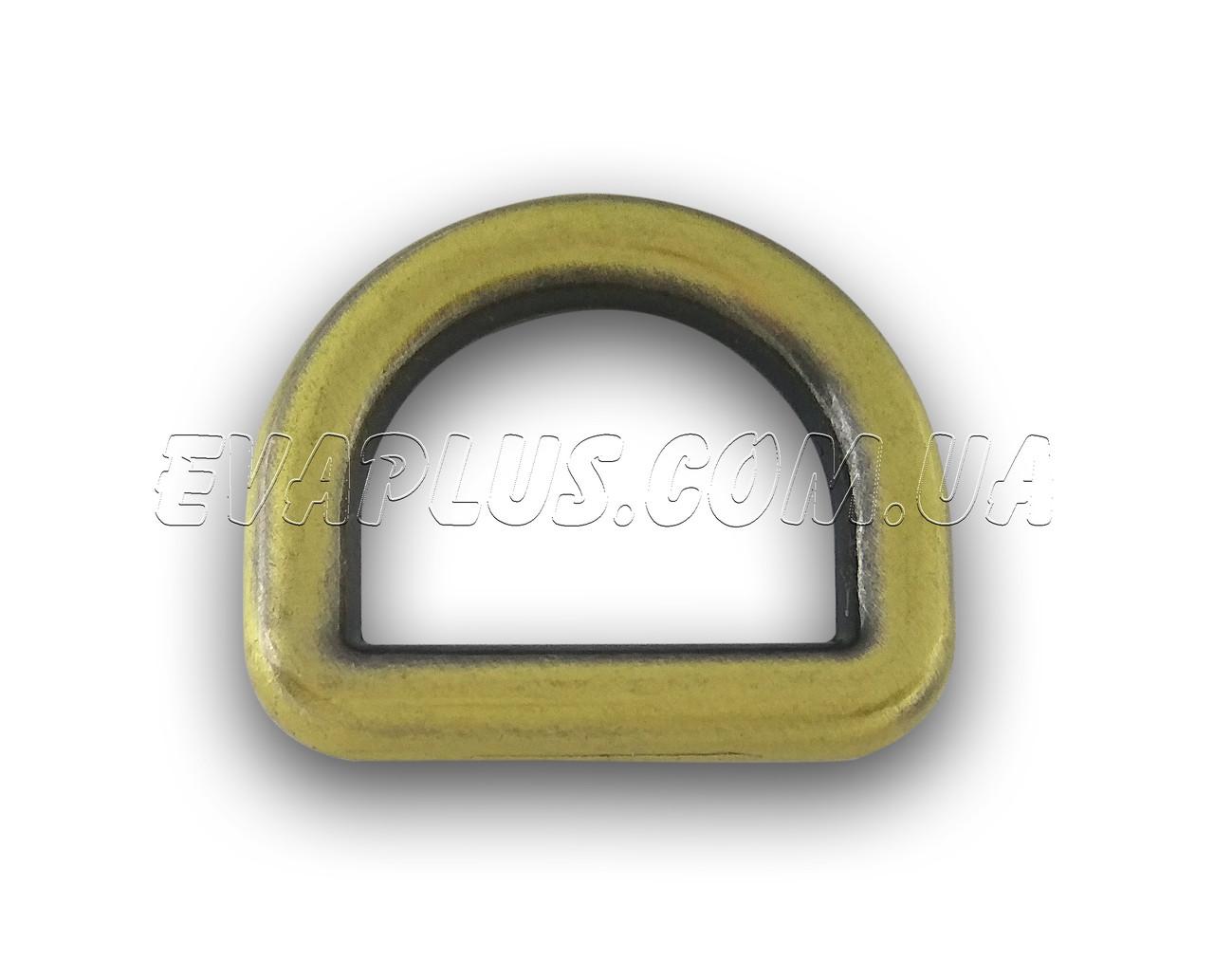 Полукольцо литое 19 мм. 5702 антик