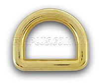 Півкільце лите 19 мм. 5703 золото, фото 1