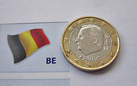 БЕЛЬГИЯ монета 1 Евро 2011 года, фото 1
