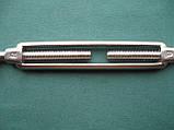Нержавеющий талреп кольцо-кольцо с открытой муфтой, DIN 1480., фото 2