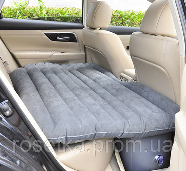Надувной матрас-кровать в машину Fuloon Car Bed на заднее сиденье + 2 подушки в подарок, автокровать