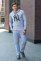 Спортивные брюки 1506 серый, фото 3