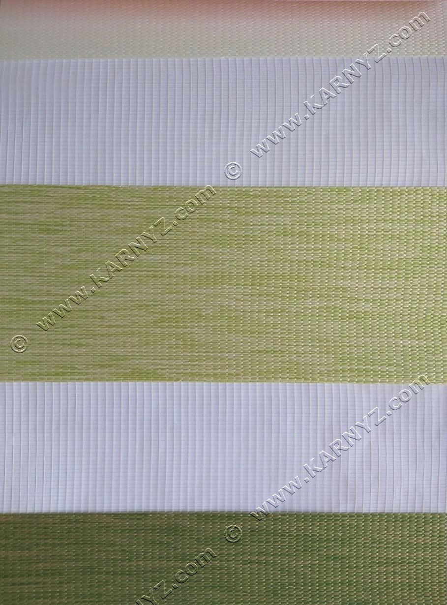 Ролета День-Ночь Тария трио B-233 белый/салатовый/зеленый