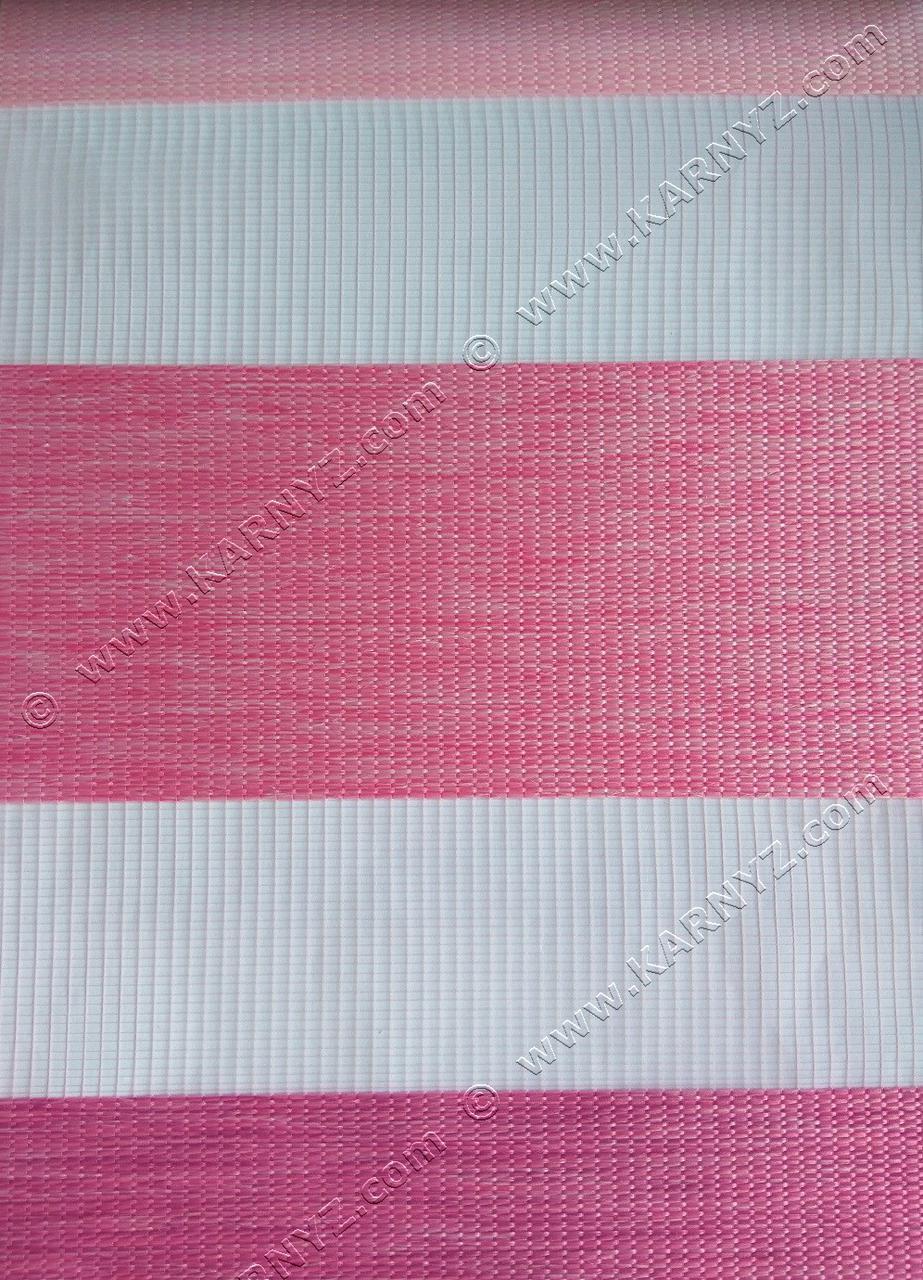 Ролета День-Ніч Таврія тріо B-234 рожевий/малиновий