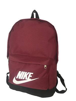 Рюкзак спортивньій R-09-04 Nike 600D бордо, фото 2