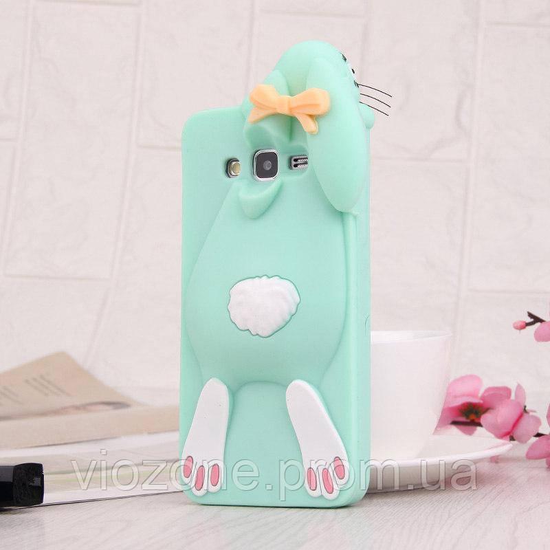 3d Чехол Бампер для Samsung Galaxy J2 Prime / G532 резиновый Кролик