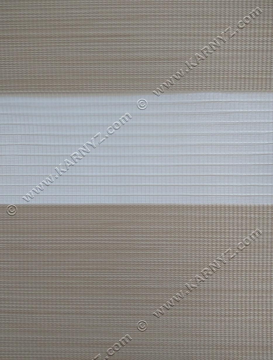 Рулонные шторы День-Ночь Венера A-671 песочный