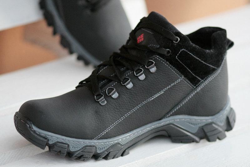 ... фото Мужские зимние кожаные ботинки Columbia реплика. КОД  Columbia  47-47., ... 372b29183bd
