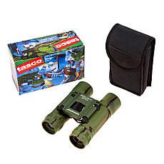 Бинокль Tasco 10*25 цвет армейский камуфляж, фото 2
